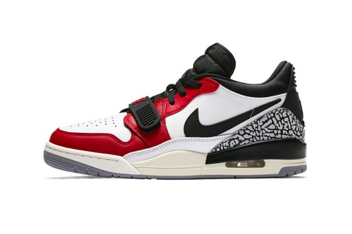 "Nike Gives Its Air Jordan Legacy 312 Low a ""Summit White/Varsity Red"" Update"