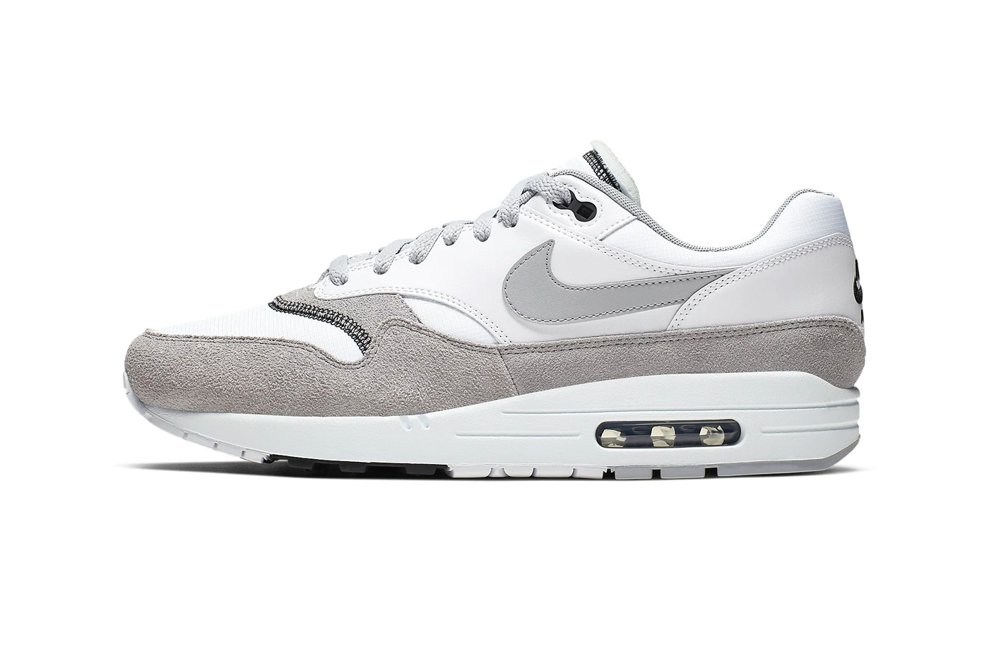 air max 1 inside out on feet
