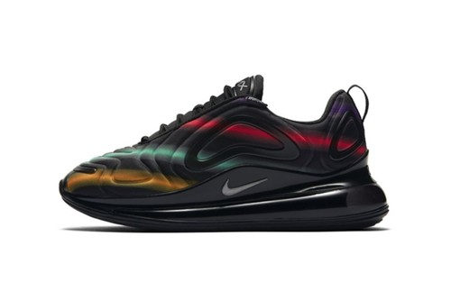 "Nike Air Max 720 ""Black Multi"" Gets Hit With Neon Streaks"