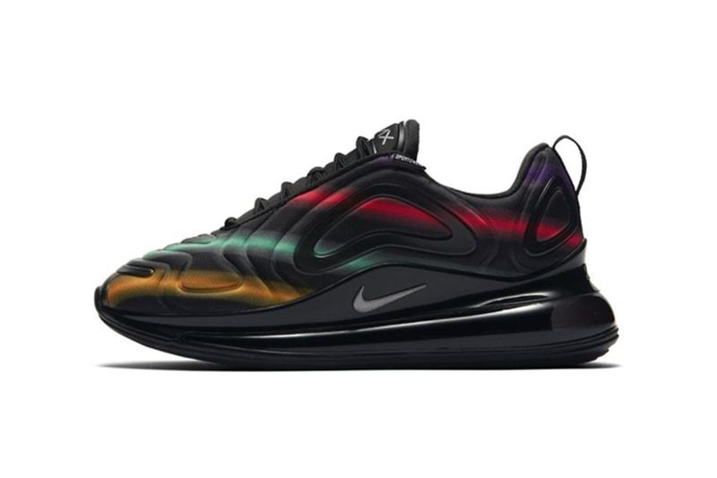 """Nike Air Max 720 """"Black Multi"""" Gets Hit With Neon Streaks"""