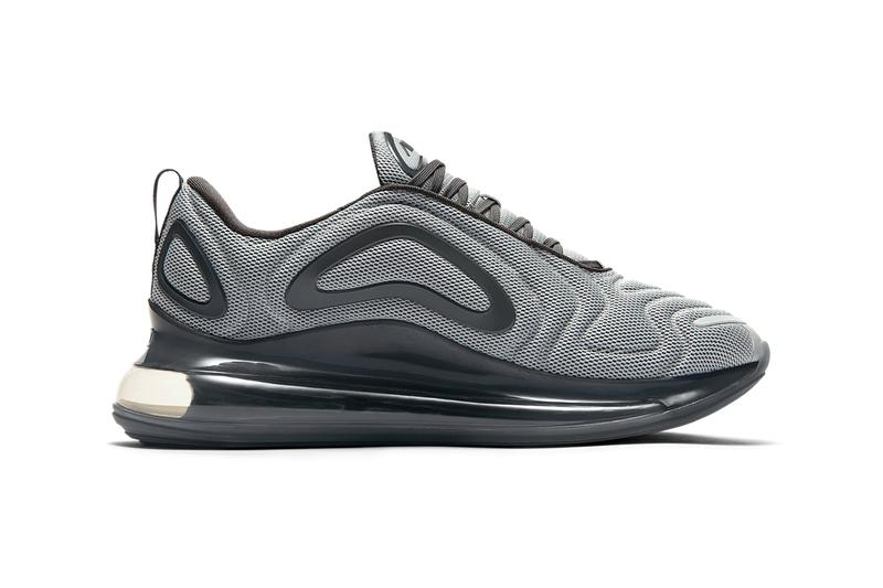 nike air max 720 wolf grey anthracite black colorway release information shop buy