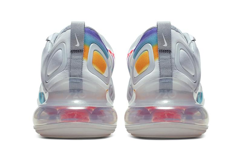 nike air max 720 Wolf Grey Red Orbit White Teal Nebula colorway release sneakers