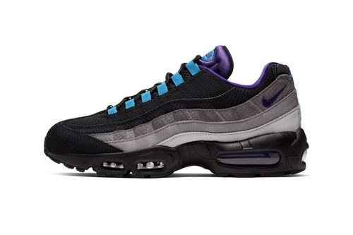 """Nike Dims out Its Air Max 95 LV8 With Its """"Grape Reverse"""" Colorway"""