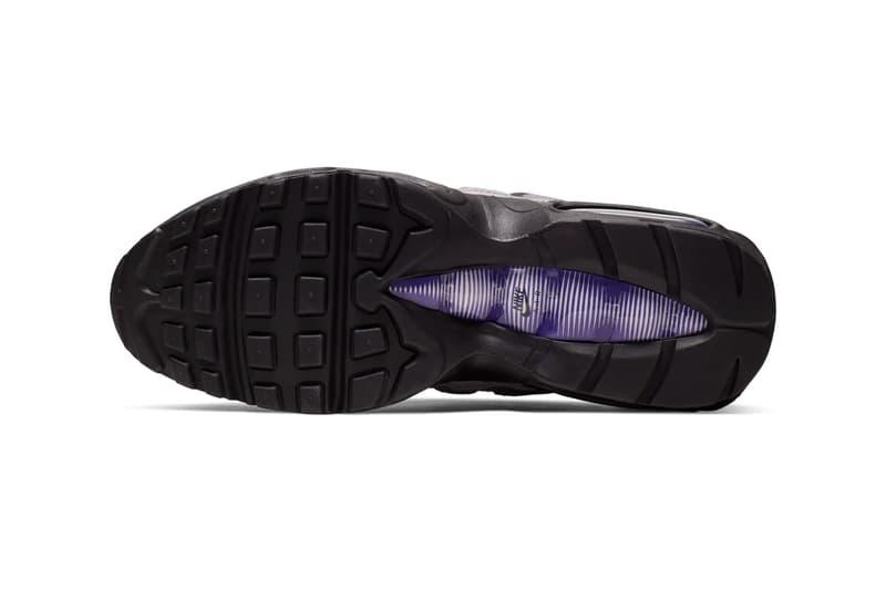 Nike Air Max 95 LV8 Grape Reverse White Court Purple Japan Release snakeskin mesh leather overlays air unit bubble sole retro swoosh layers