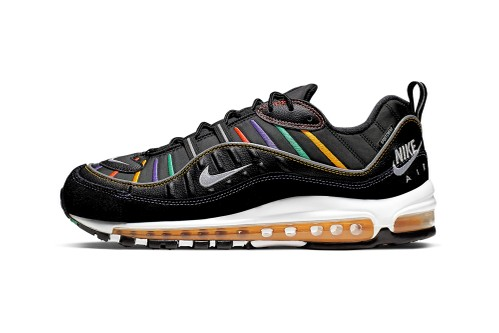 Nike's Air Max 98 Gets Retro Windbreaker-Inspired Treatment