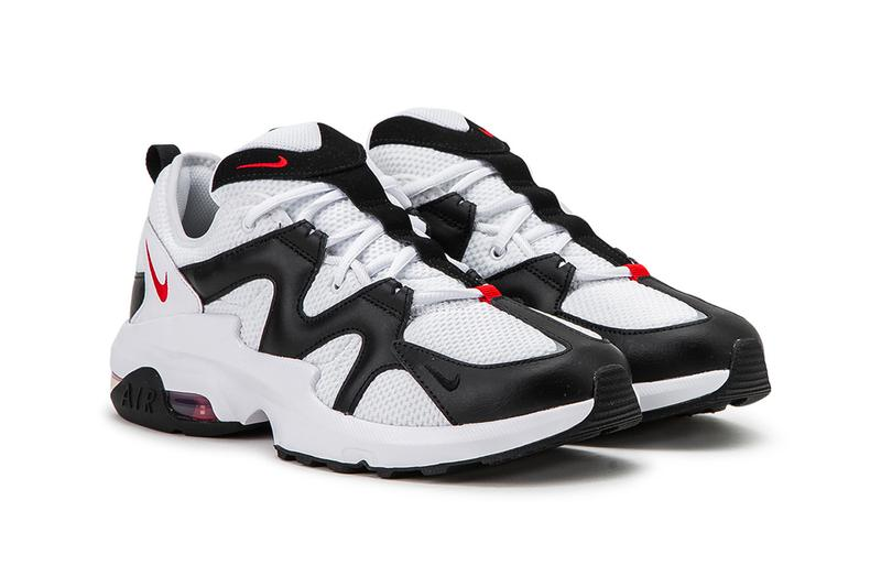 Nike Air Max Graviton White Black Chunky 90s 2013 retro mesh 3M detail leather suede Swoosh footwear sneaker red