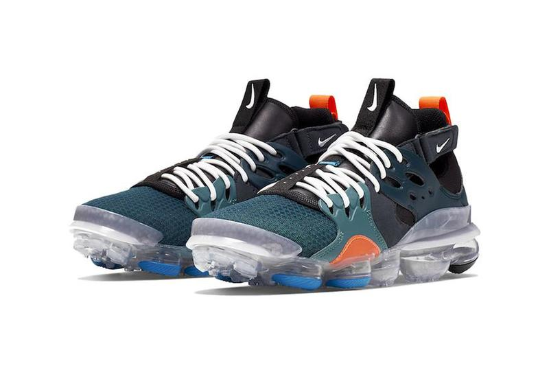 nike air vapormax dmsx dimsix at8179 300 Midnight Turn White Mineral Teal black green orange clear white motorcross urban