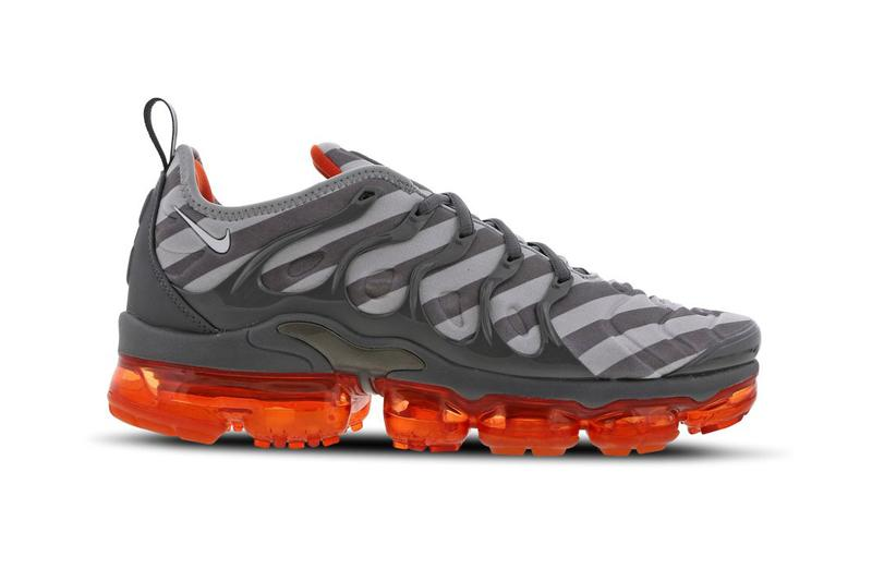 buy popular bdd3e 475aa Nike Air Vapormax Plus Wolf Grey White Monsoon Blue orange gray sneaker box  max 924453-. 1 of 4. Foot Locker