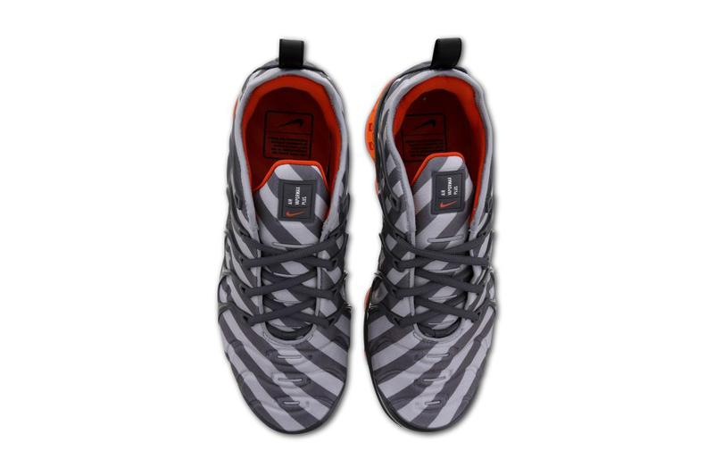 Nike Air Vapormax Plus Wolf Grey White Monsoon Blue orange gray sneaker box max 924453-020 foot locker finish line 314207782104