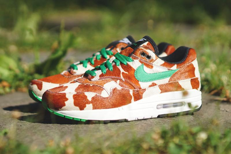 "atmos x Nike Air Max 1 ""Animal 3.0"" Pack nyc leopard cheetah giraffe swoosh new york sneaker shoe tiger"