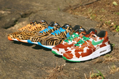 "Get a Closer Look at the atmos x Nike Air Max 1 ""Animal 3.0"" Pack"