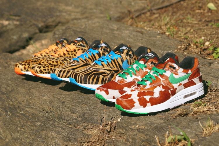 "afe7c4dba0619 Get a Closer Look at the atmos x Nike Air Max 1 ""Animal 3.0"""