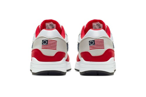 """Nike's Pulled Air Max 1 """"Fourth of July"""" Resold for $2,500 USD"""