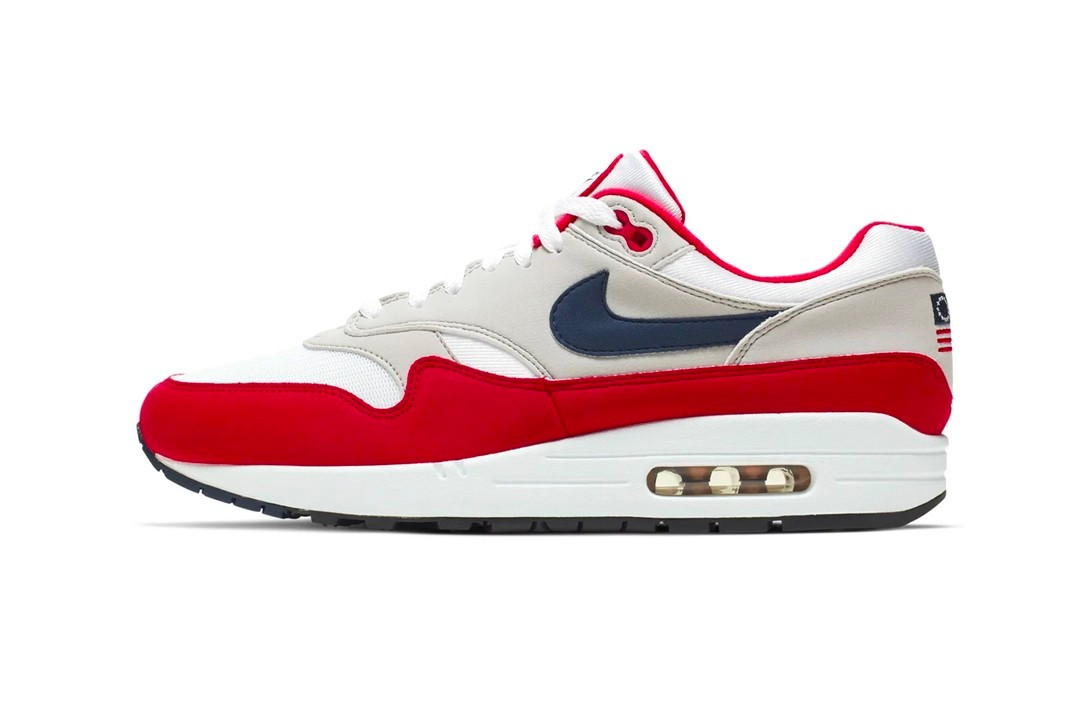 Nike Axes Betsy Ross-Themed Air Max 1 Sneaker Colin Kaepernick call out sportswear slavery era flag confederacy independence day am1 betsy ross cnbc Wall Street Journal