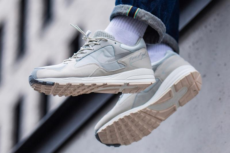Fear of God x Nike Air Skylon II Release Info jerry lorenzo sneakers shoes 90s vintage retro suede premium mesh reflective
