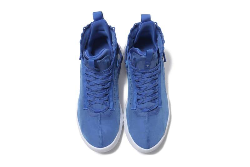 Nike Jordan Proto React Hyper Royal Obsidian White sole midsole velcro strap 23 jumpman logo velcro ripstop neoprene sockliner 000 sneaker footwear