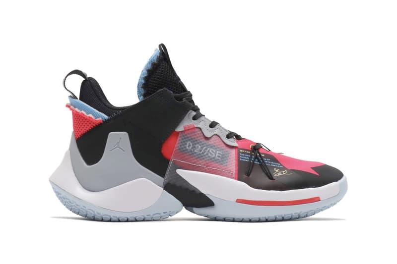 Nike Jordan Why Not Zer0 2 Se Red Orbit Black Hypebeast