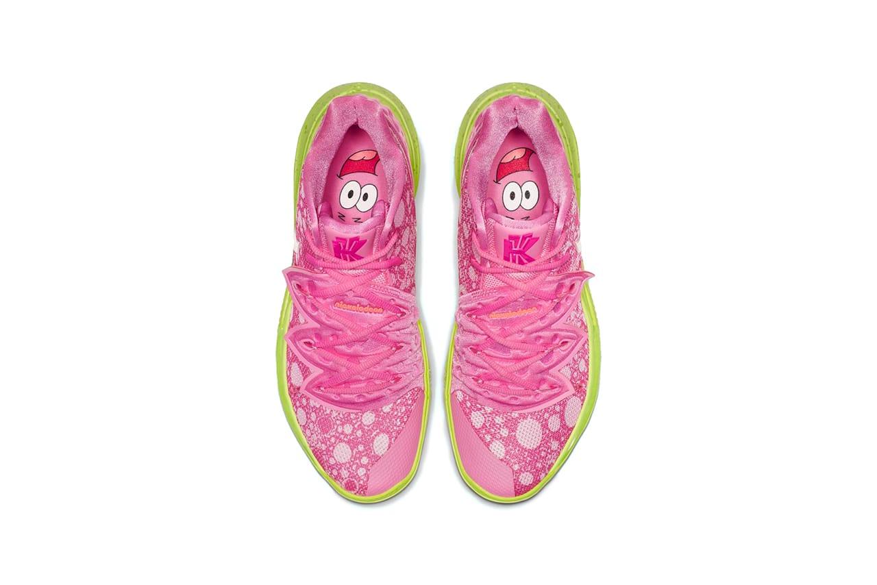 Spongebob Squarepants' x Nike Kyrie