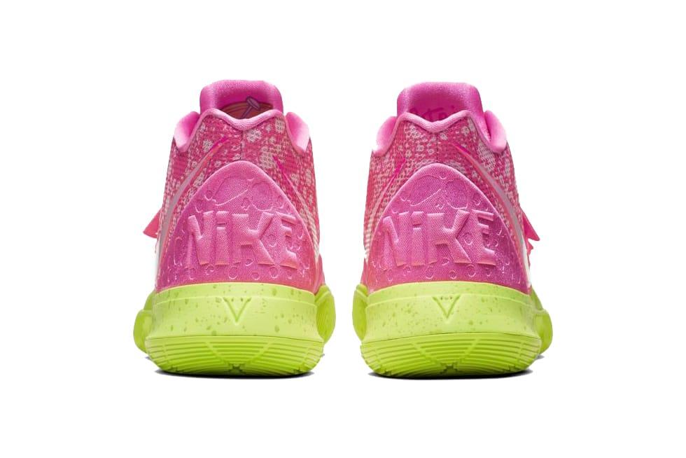 Men 's Nike Kyrie 5 Spongebob Pineapple House Size 13