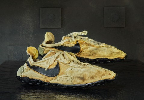 """Nike's Rare """"Moon Shoe"""" Lands in Graduate Hotels' Vintage Sneaker Collection"""