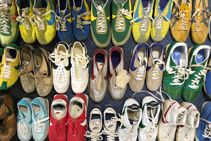 nike moon shoes graduate hotels vintage sneaker collection apollo i 50th anniversary rare shoes