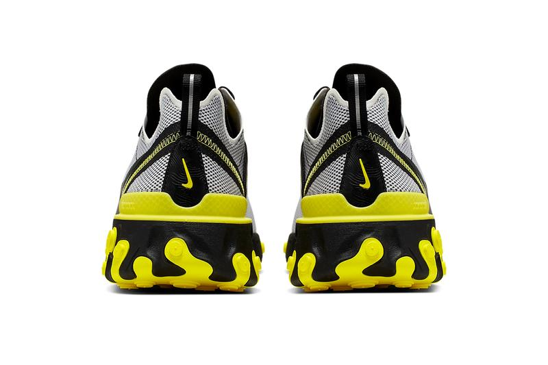Nike React Element 55 Dynamic Yellow Release Info CK1686-001