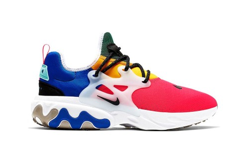 Nike Releases a Colorblocked Presto React