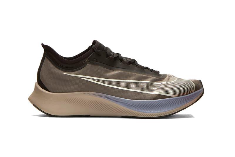 Nike Zoom Fly 3 Black Grey Release nike running lifestyle buy now info drop date gray blue dark ash
