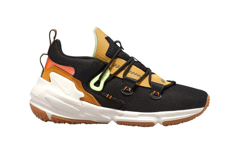 Nike Zoom Moc Bright Ceramic Riccardo Tisci Air Zoom Legend Sole rugged trek mountaineering hiking urban lifestyle blend merge mesh suede nyon 3M salmon volt green chunky