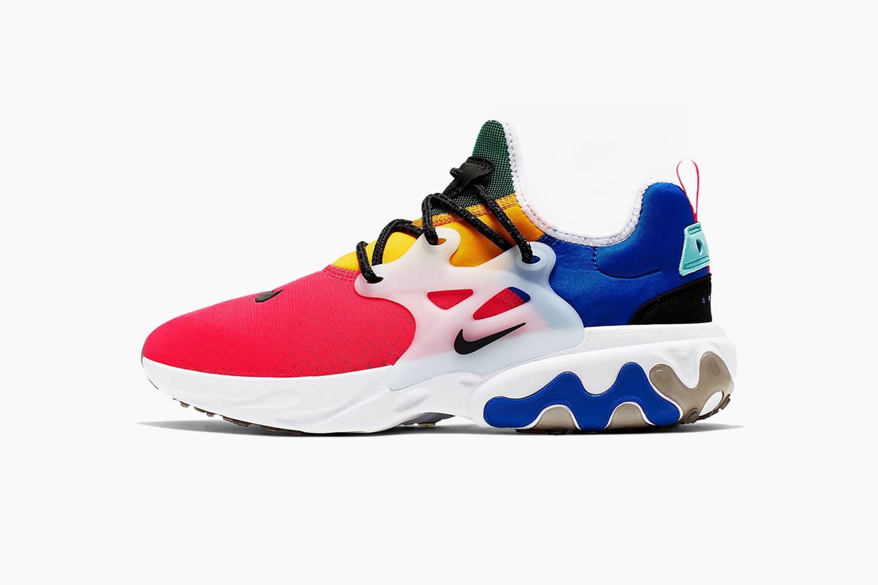 Nike Presto React Multi-Color Release
