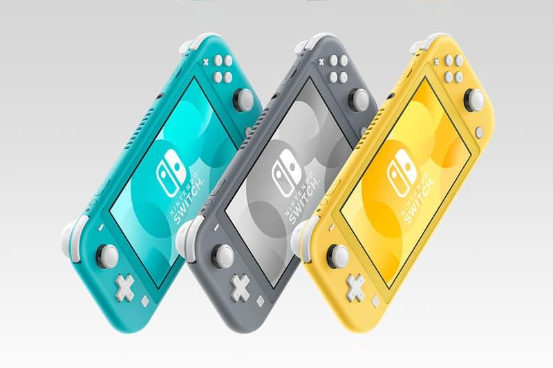 Nintendo Switch Lite Console Pre-Order Release buy grey yellow blue  Zacian and Zamazenta Edition september 20 november 8 2019 buy store