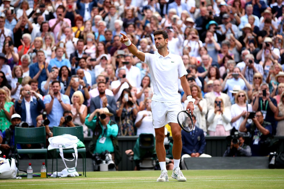 Novak Djokovic Defeats Roger Federer To Win Wimbledon