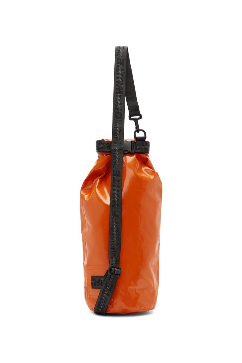 off white offwhite orange rolltop incompiuto bag punching bag inspired release summer 2019