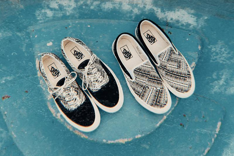 OFFSPRING x Vans Herring-Bone Pack ERA 95 DX Sneaker Silhouette Classic Slip On DX 98 Van Doren Prints Archive Japanese Thrift Stores Closer Look Collaborative Pairs United Kingdom Shop Release Information Cop