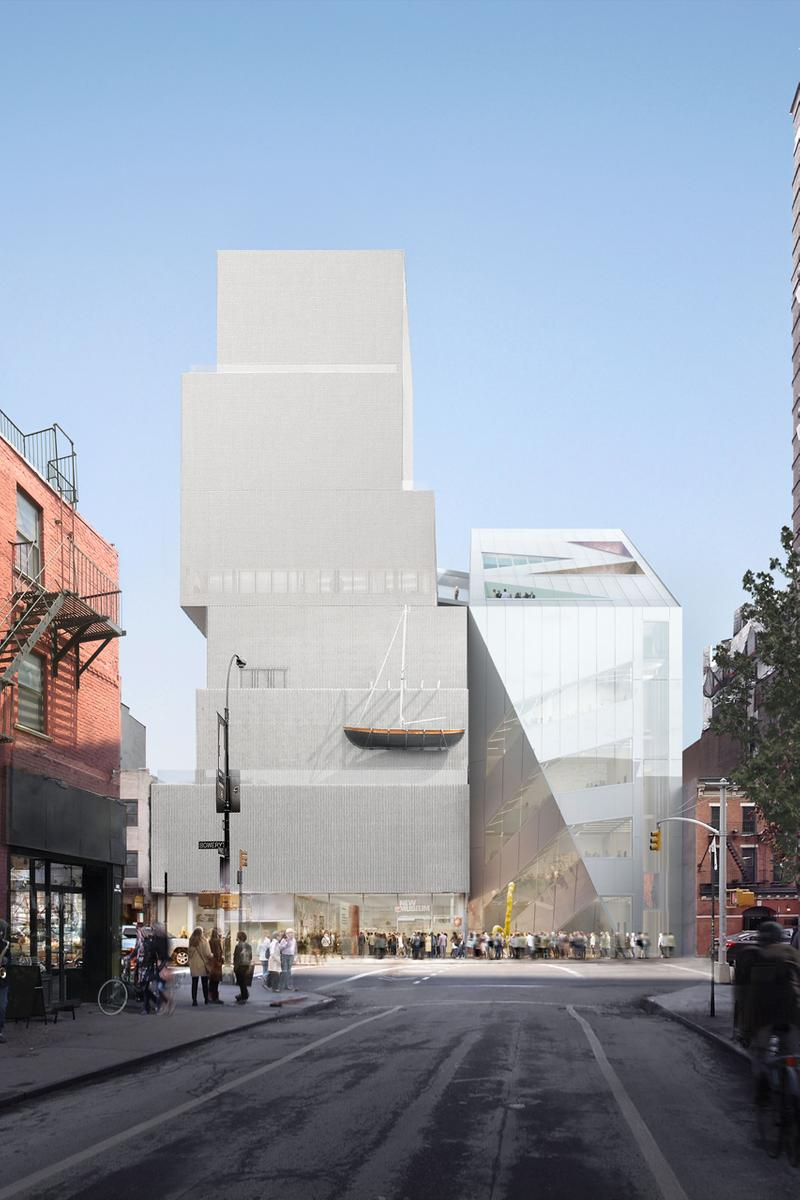 oma new museum extension curved angular sanaa