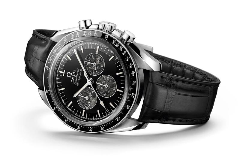 Omega Unveils Speedmaster Moonwatch 321 Platinum apollo 11 Neil A. Armstron