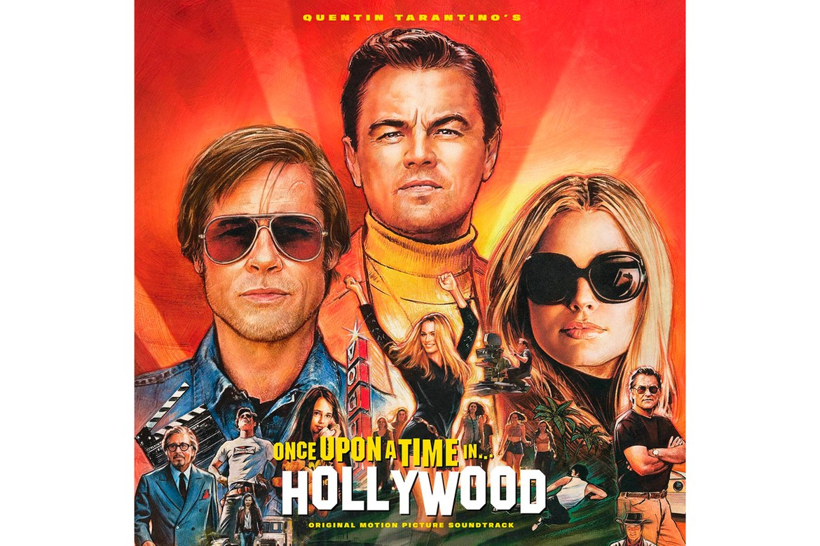 Image result for once upon a time in hollywood poster