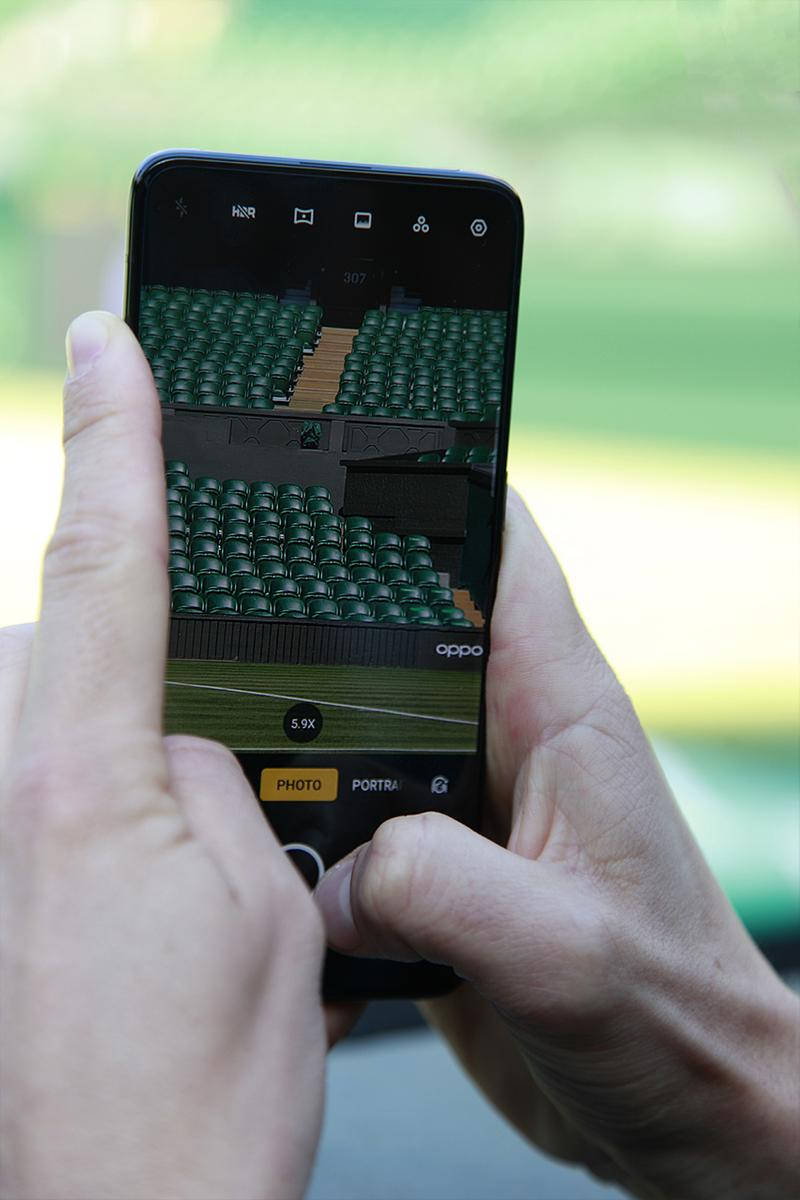 Photographer Exploring The Championships, Wimbledon Through The OPPO Lens Tennis All England Lawn Tennis and Croquet Club OPPO Reno Phone