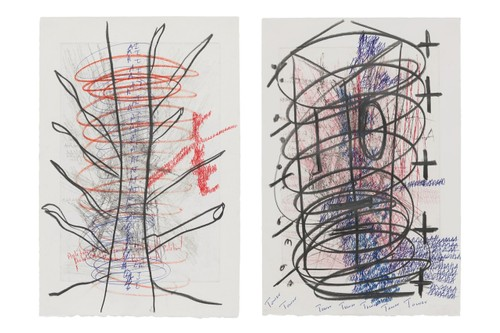 Oscar Murillo's 'Poetics of Flight' Series Features Turbulent Works on Paper