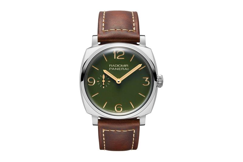 Panerai Dresses Its Classic Radiomir Collection in Military Green