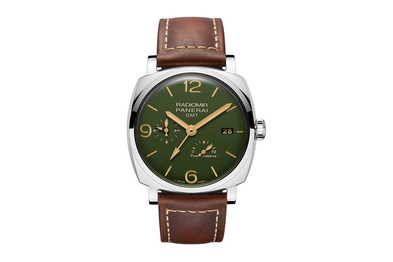 Panerai Radiomir Military Green Collection Info watches accessories italian navy timepiece