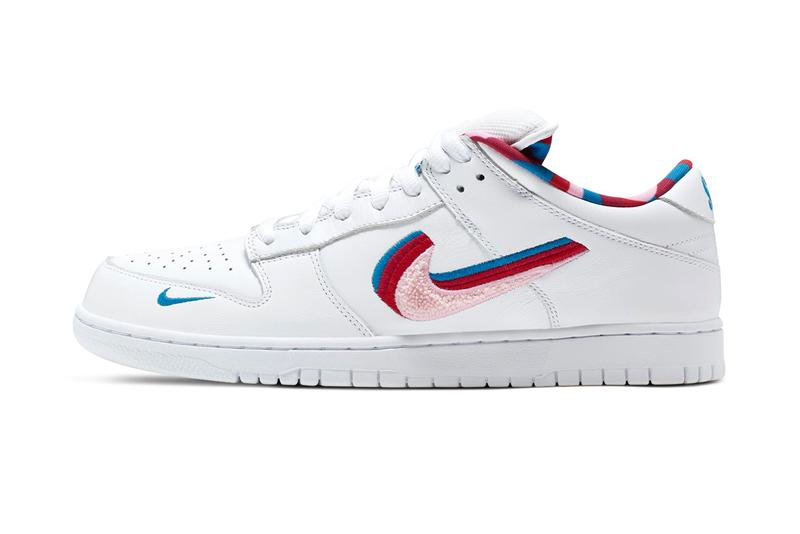 Parra x Nike Dunk & Blazer Low Release sneaker where to buy price 2019