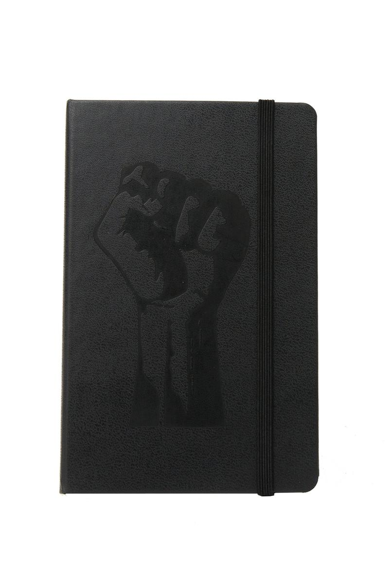 Patta x Moleskin Notebook Black Release Information Cop Online Lined Acid Free Paper 70gsm Italian Hardcover Leather Bound Book Ribbon Bookmark Elastic Closure Writing