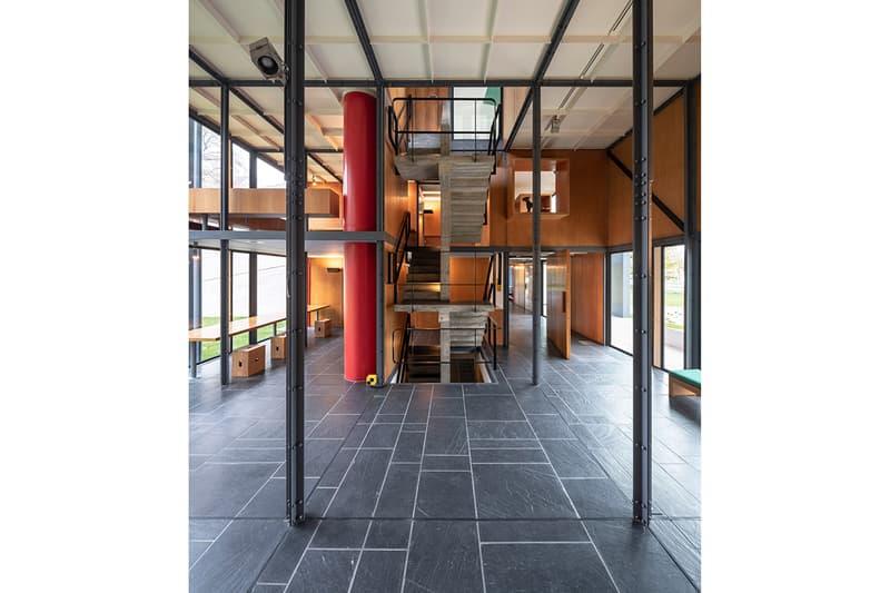 Pavilion Le Corbusier Zurich Switzerland Art Museum Silvio Schmed Arthur Rüegg Restoration Modernist Architecture Heidi Weber Museum für Gestaltung Zürich