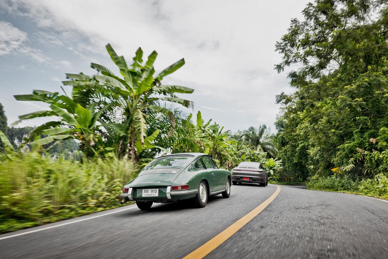 porsche 911 taycan thailand road trip 912 911 Club Sport 964 Speedster 996 GT3 RS pristine 997 Turbo 993 RS Stefan Bogner Lee Yik Keat