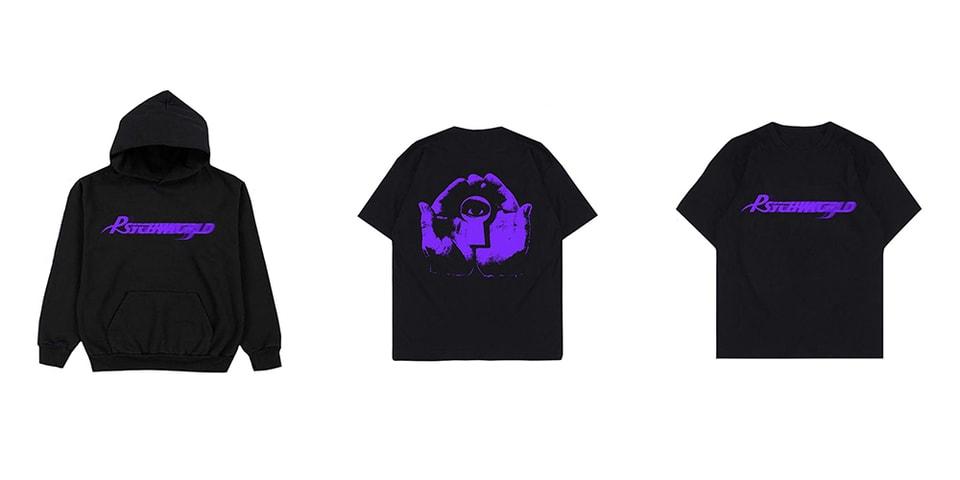 Psychworld Purple Logo Release Information | HYPEBEAST