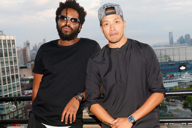 Public School Sustainable V-to Label Basics Streetwear Supplier CFDA Lexus Fashion Initiative Ethical Maxwell Osborne Dao-Yi Chow Toronto Recycled Cotton T-Shirts