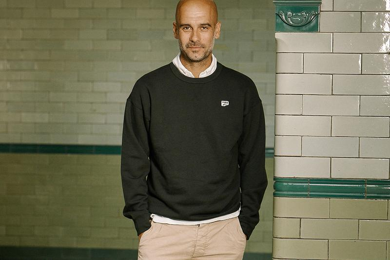 puma pep guardiola manchester city football soccer collaboration partnership deail information details specifics premier league