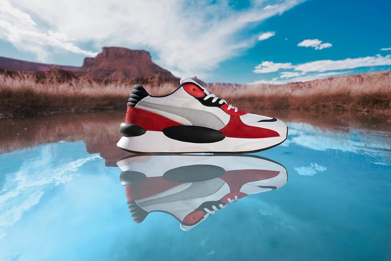 PUMA RS 9.8 Sneaker Release Information Drop Date First Look Gravitational Acceleration Inspired Space Core Cosmic SciFi Gravity Colorways Running System Technology