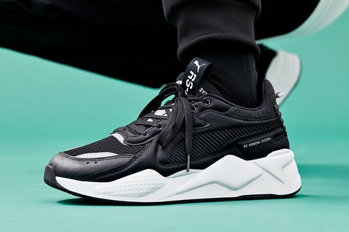 PUMA Expands RS-X Softcase in Classic Black and White